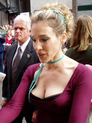 English: American actress, Sarah Jessica Parke...