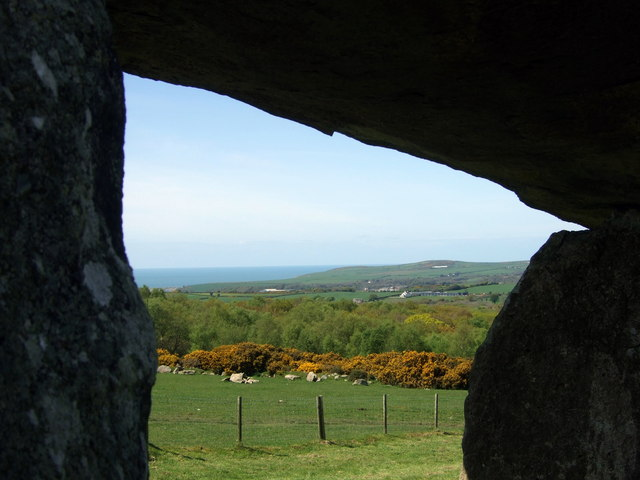 Sea view from the stone chamber - geograph.org.uk - 1295249