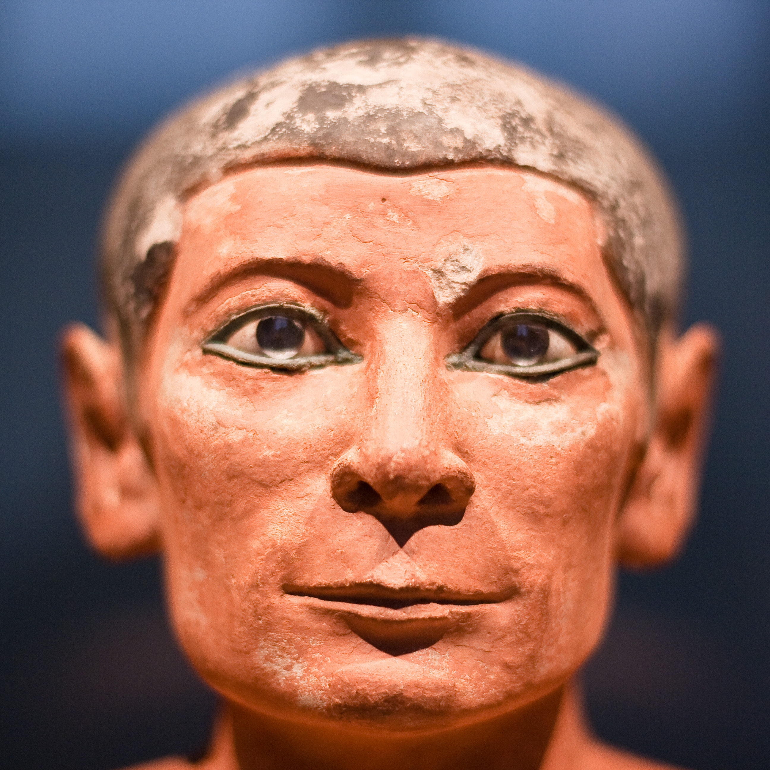File:Seated Scribe Facial Close-Up.jpg - Wikipedia, the free ...