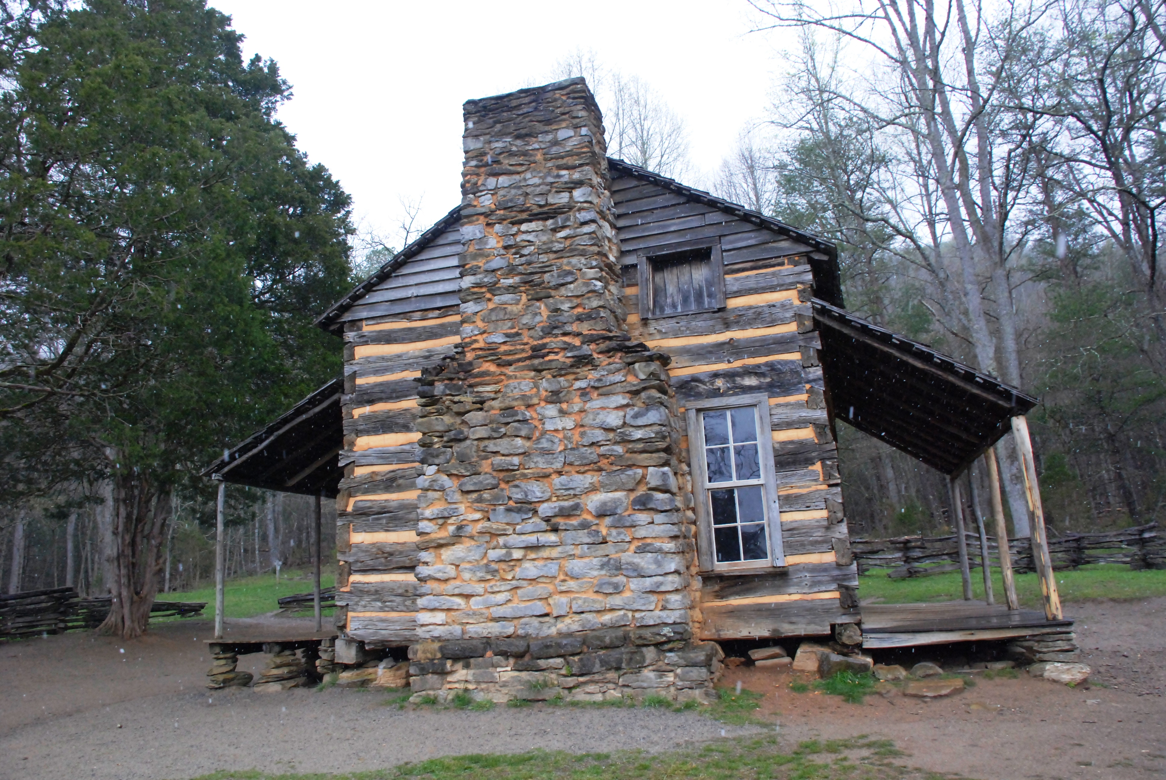 wikimedia cabins mountains file wiki oliver smoky cabin commons john