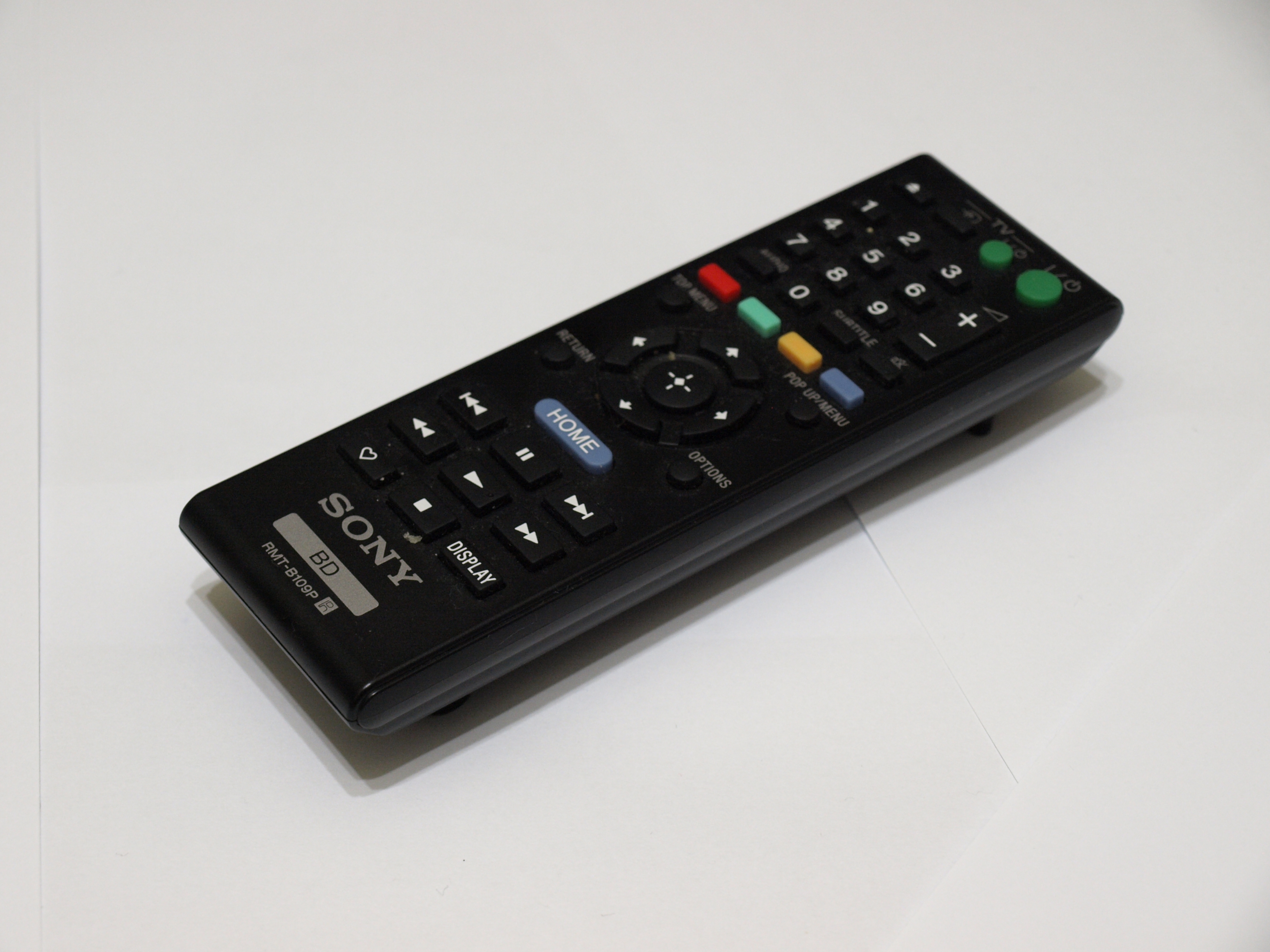 File:Sony DVD remote control 1.jpg - Wikimedia Commons