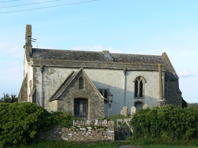 St John the Baptist Church, Inglesham, Wiltshire.