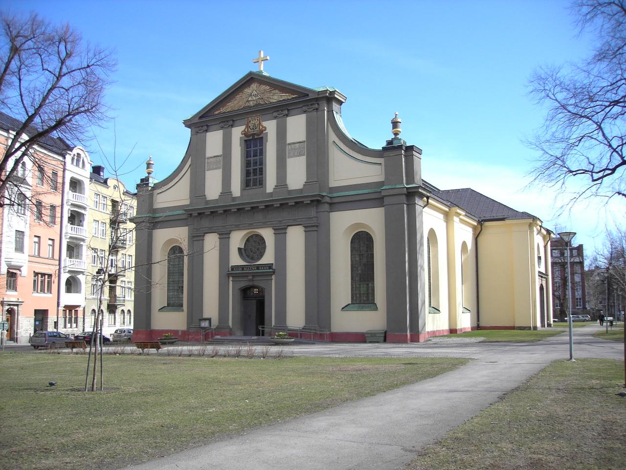 Bild av Sankt Olai kyrka