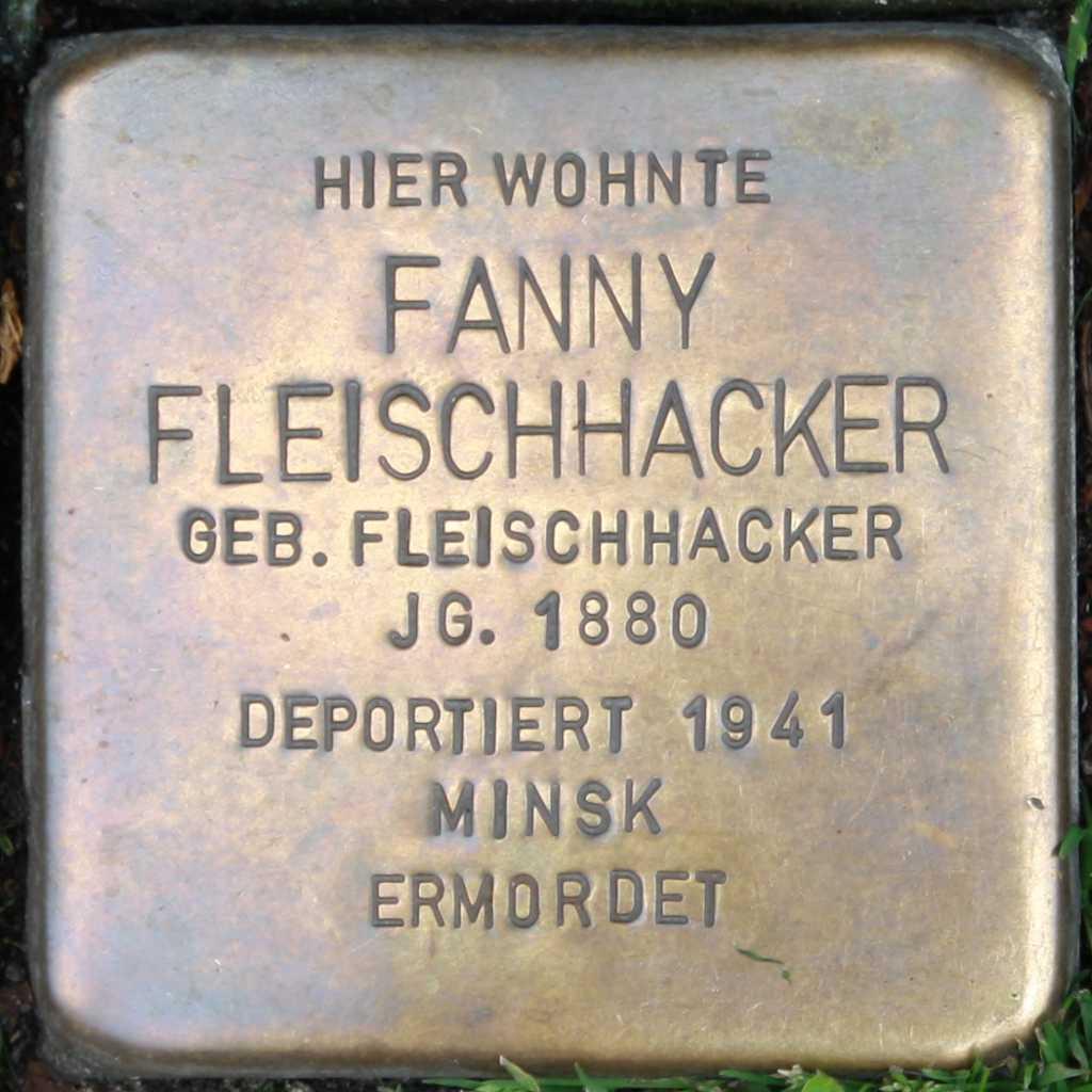 Stolperstein Fanny Fleischhacker Wuppertal.jpg