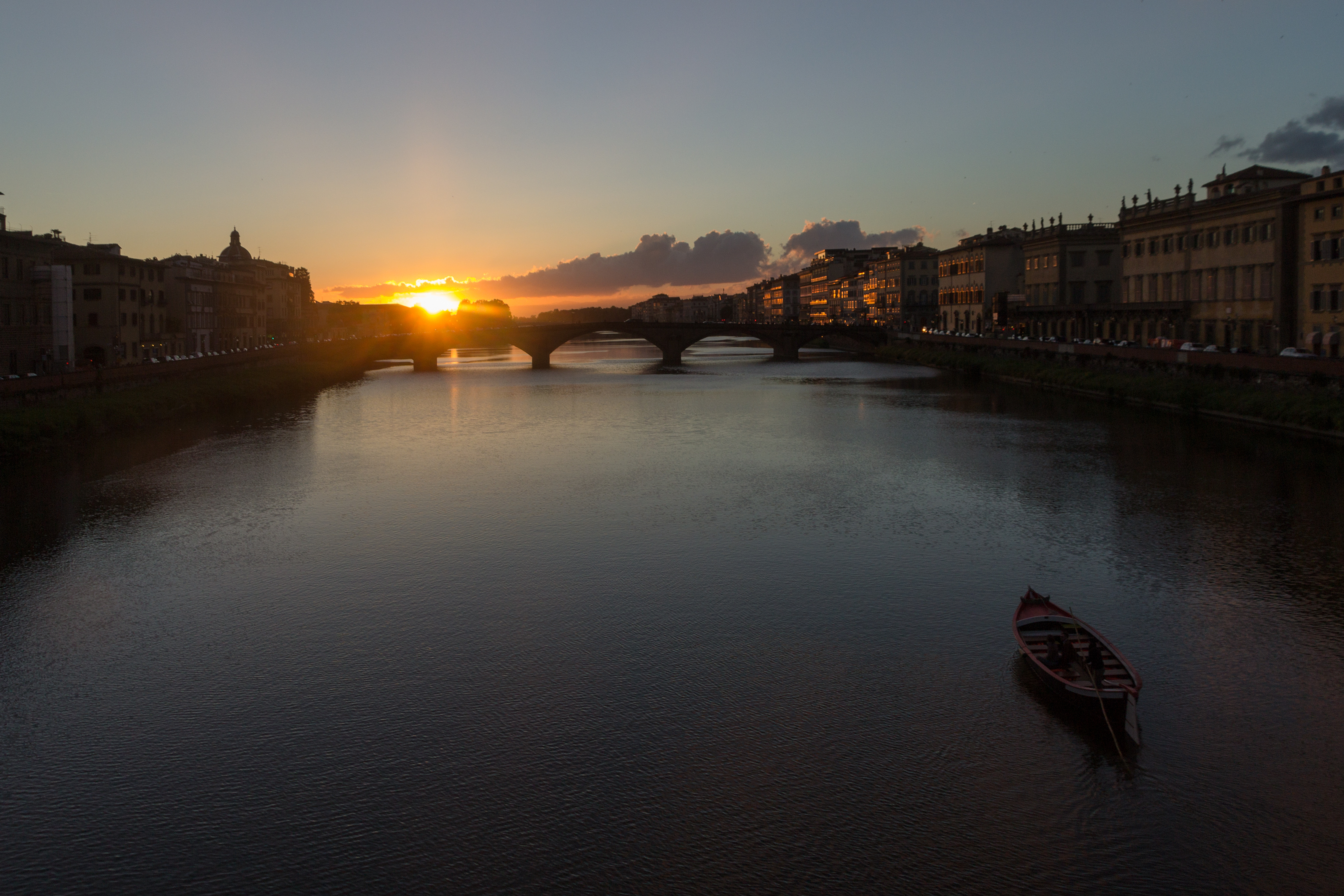 Sunset over Arno River, Florence, May, 2017-2.jpg