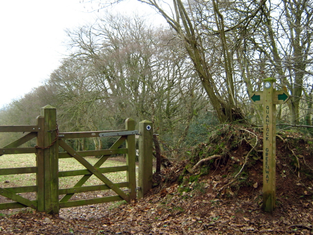 The Quantock Greenway at Walford's Gibbet - geograph.org.uk - 1766922