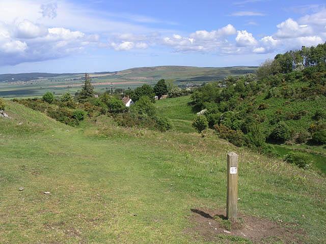The St Cuthbert's Way near Wooler - geograph.org.uk - 444972