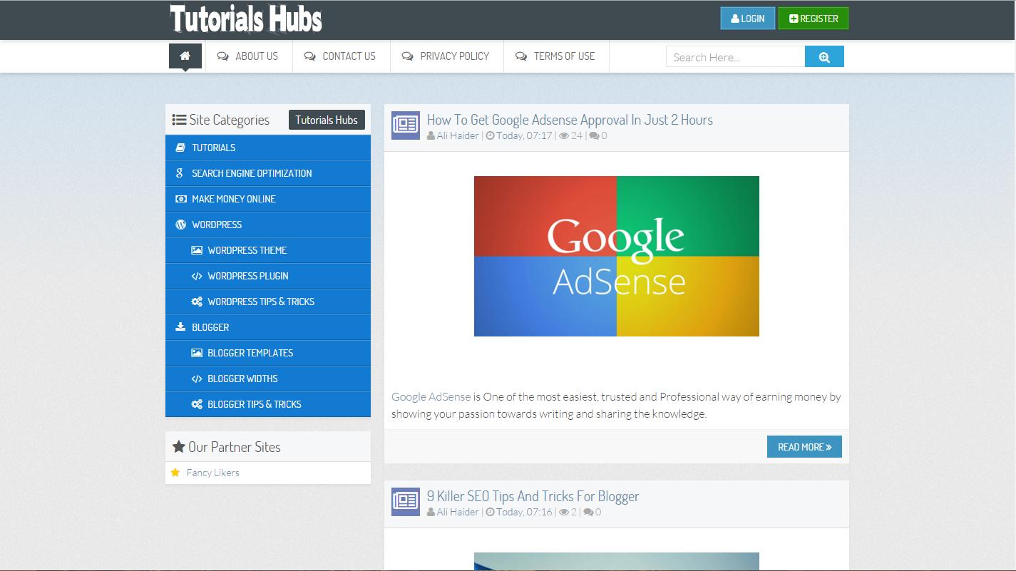 File:Tutorials Hubs Screenshot.png
