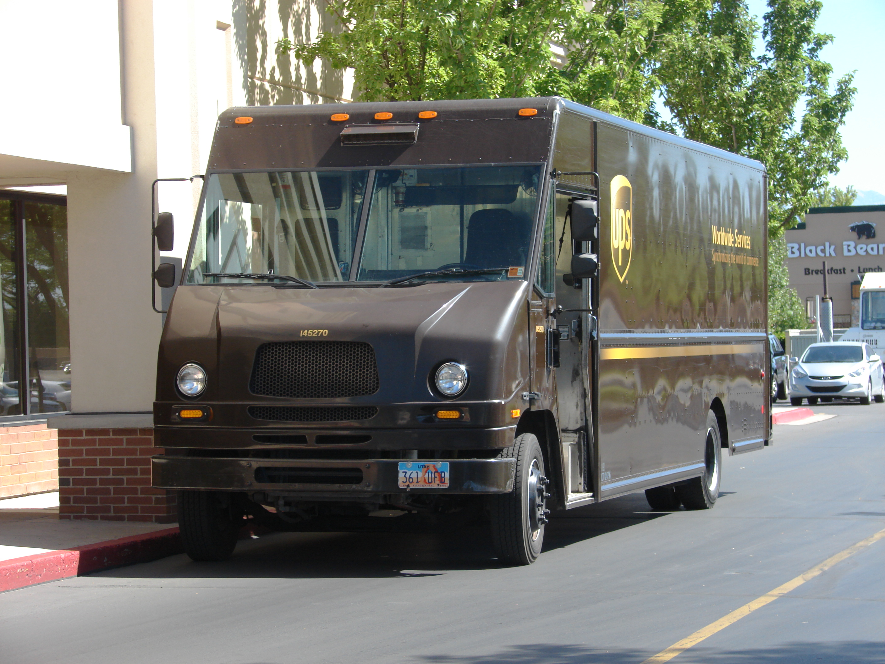 File Typical Ups Delivery Truck Jpg