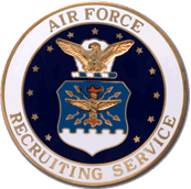 USAF Recruiting Service Badge