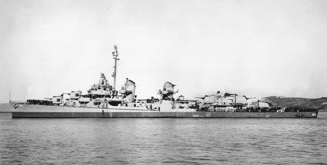 USS Erben DD-631