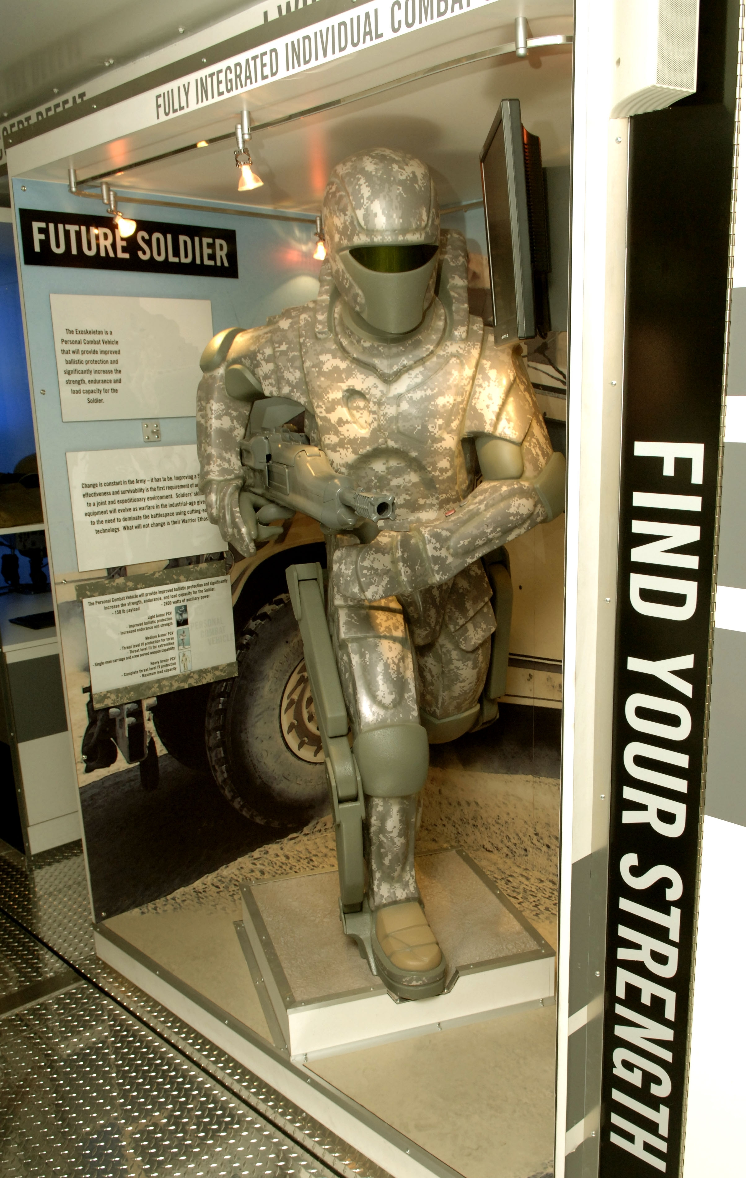 Description US Army powered armor jpgMilitary Exosuit