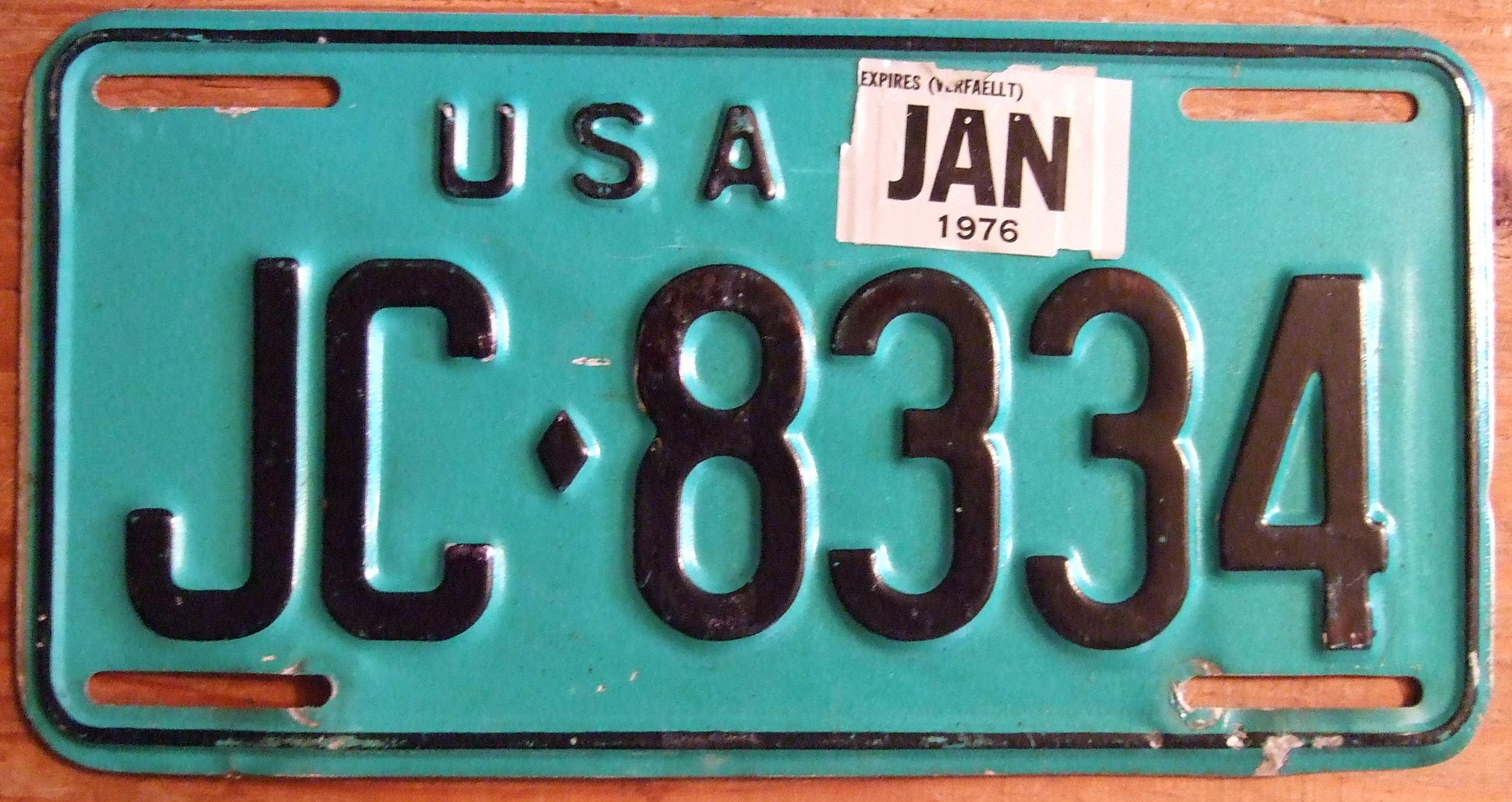 US Army Kennzeichen Nummernschild License Plate USA D-Day All American,