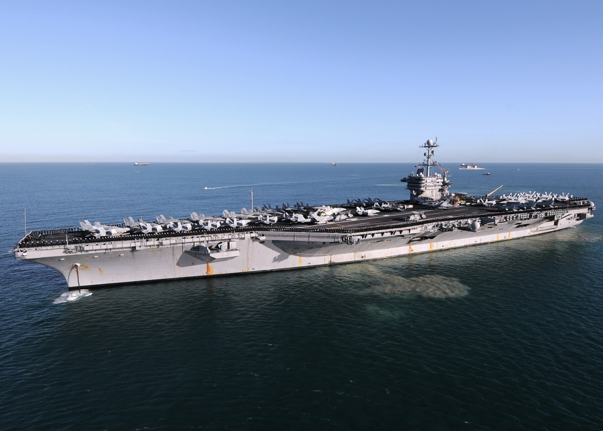 9565d 269 the nimitz class aircraft carrier uss george washington