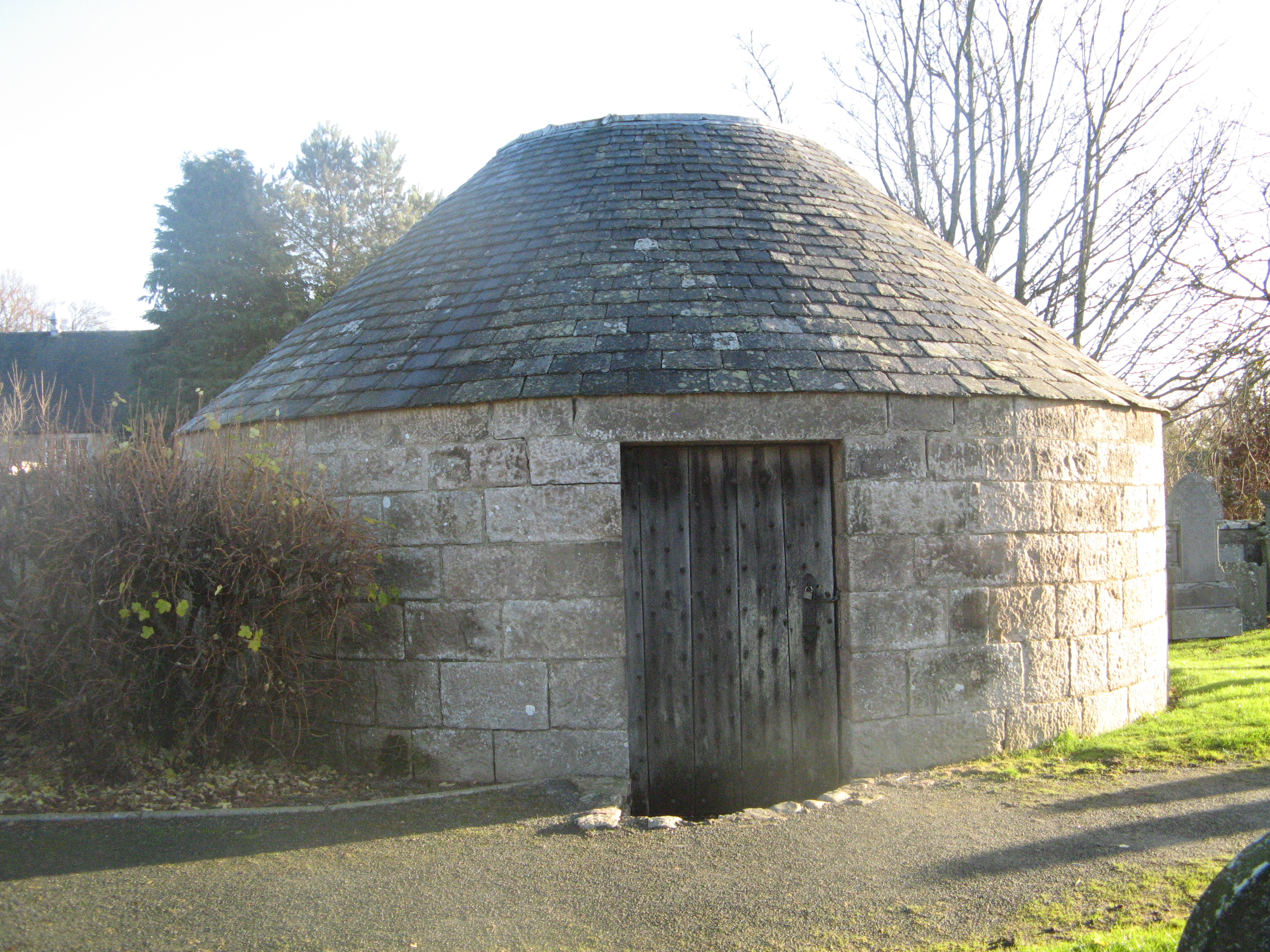Small round building