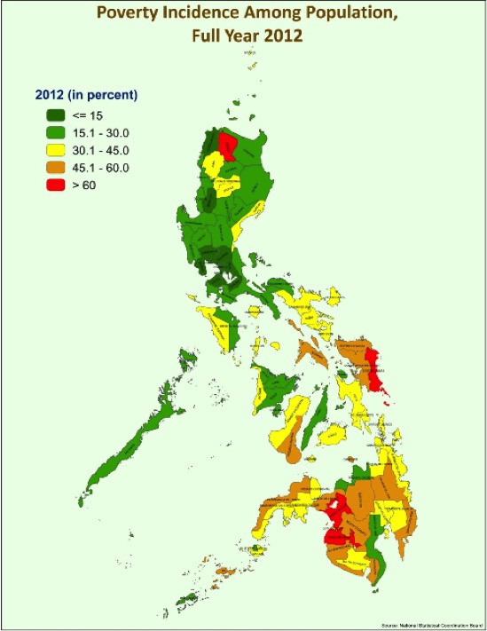 Poverty In The Philippines Wikiwand - Poverty rate by country 2016