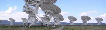Very Large Array w Socorro, stan Nowy Meksyk. Autor: Hajor