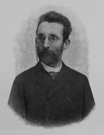 Vargha Gyula portréja a Vasárnapi Ujságban