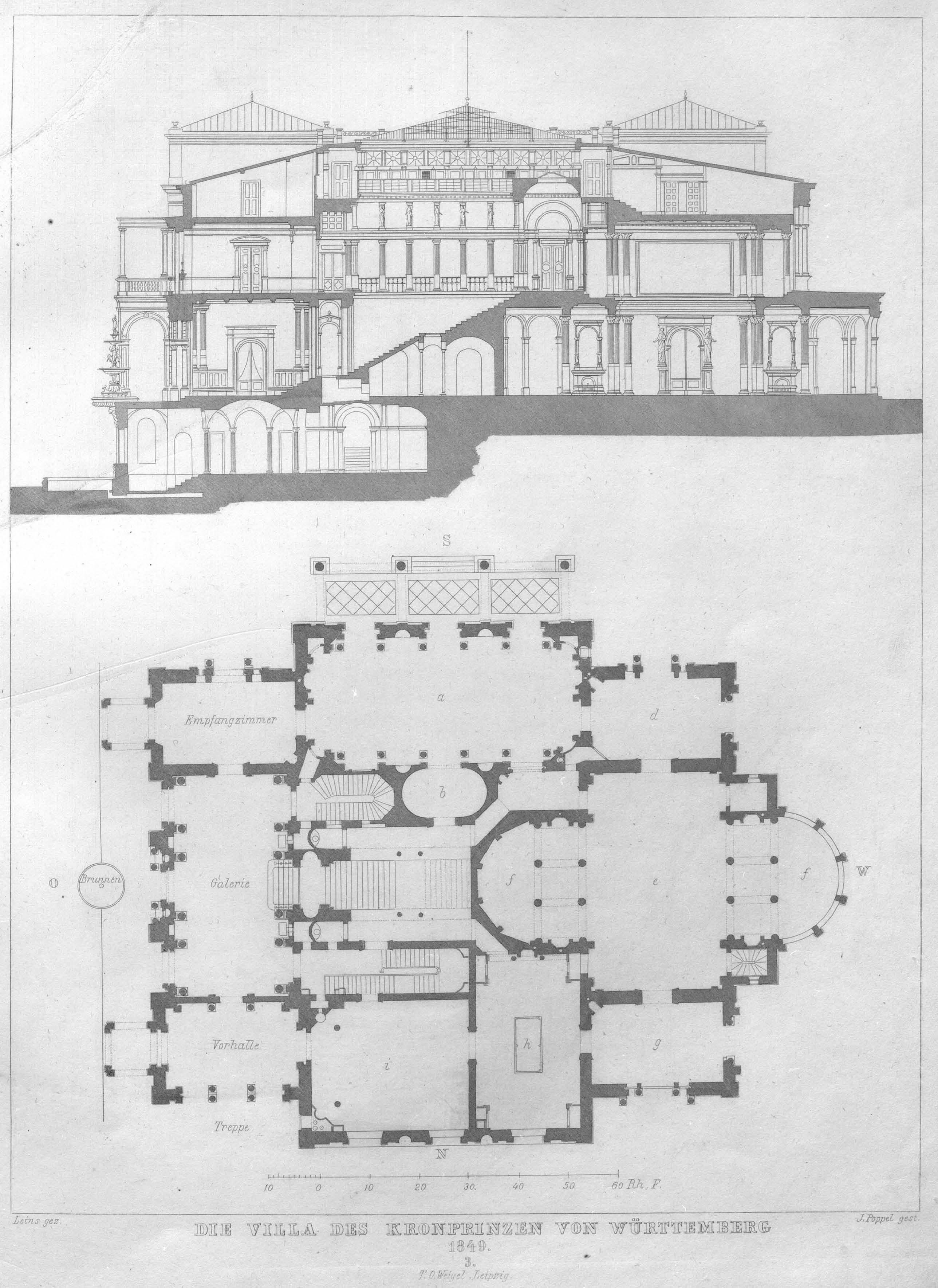 file villa berg schnitt und grundri wikimedia commons. Black Bedroom Furniture Sets. Home Design Ideas