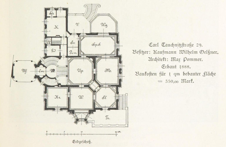 datei villa wilhelm oel ner grundriss karl tauchnitz stra e 13 alt 29 leipzig und seine. Black Bedroom Furniture Sets. Home Design Ideas