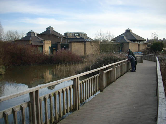 Visitor centre at the Wildfowl and Wetland Trust - geograph.org.uk - 1187503