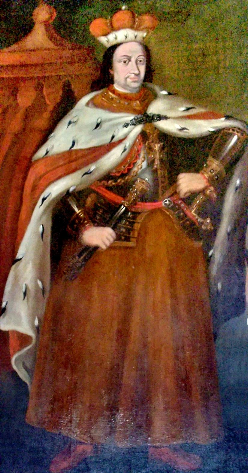 Depiction of Vitautas