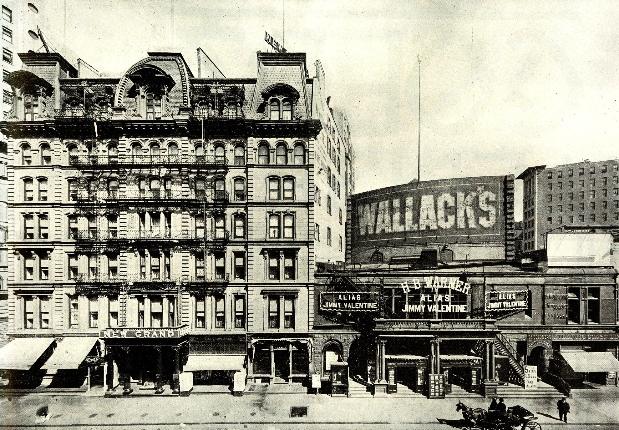 File Wallack S Theatre Right And New Grand Hotel New