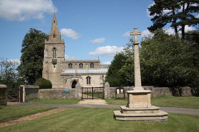 War Memorial, Weekley-geograph-2546715