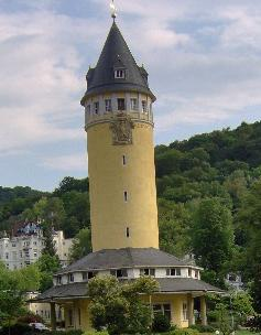 A Water tower built in Bad Ems in 1907