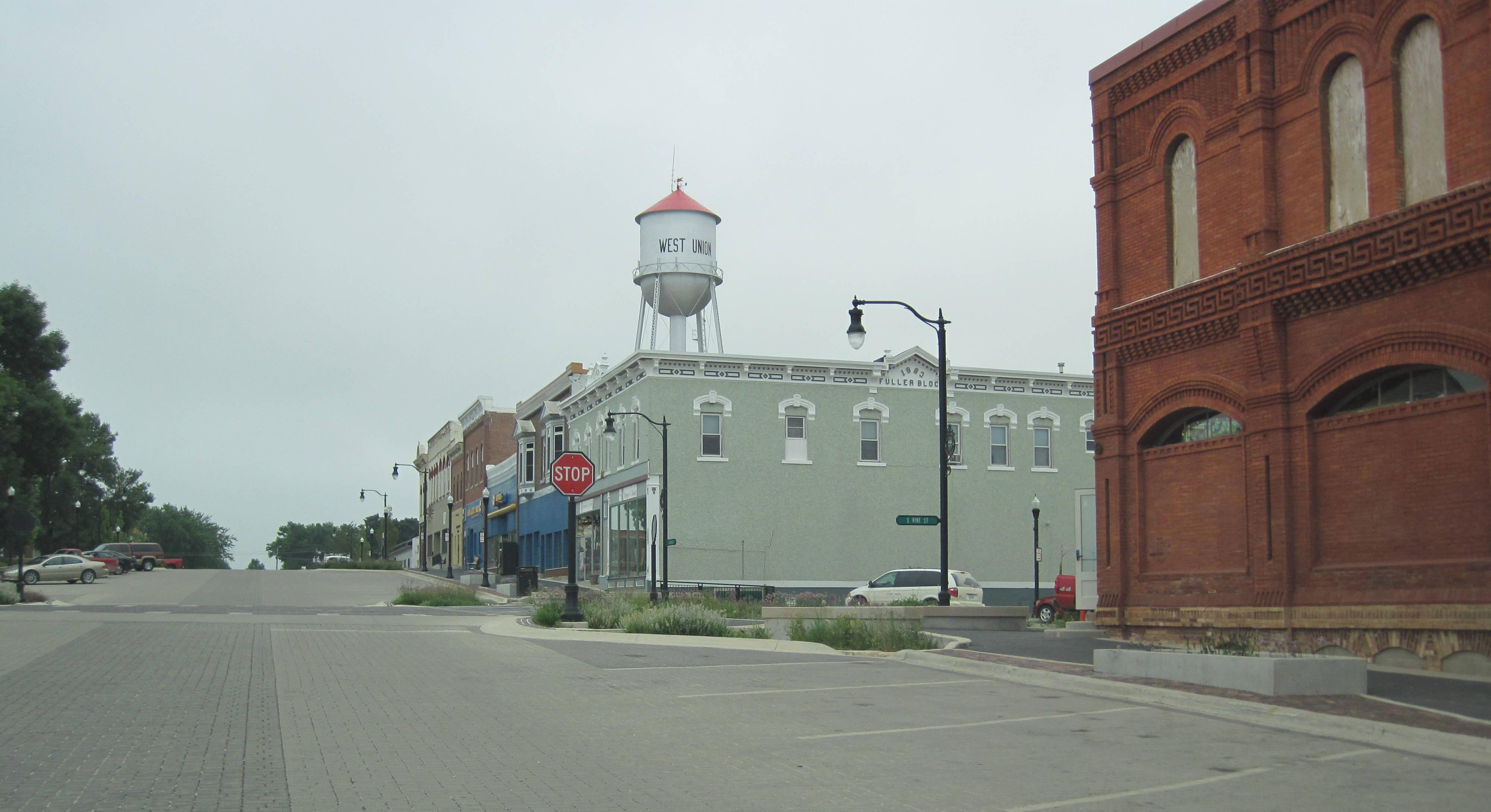 West Union Iowa >> File West Union Iowa Watertower Jpg Wikimedia Commons