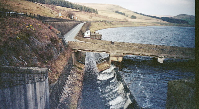 Woodhead Reservoir Overflow Channel - geograph.org.uk - 436853