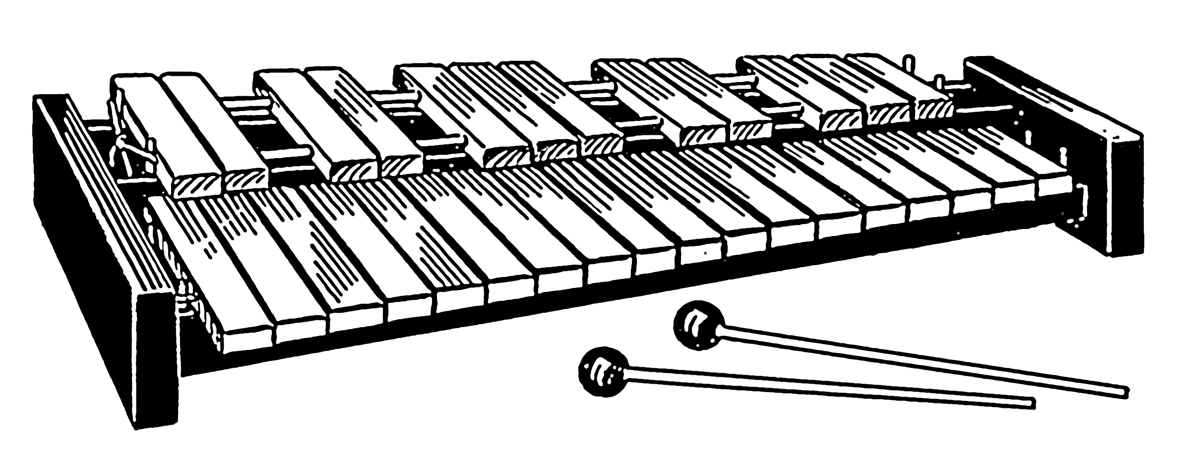 Line Art Xylophone : File xylophone psf