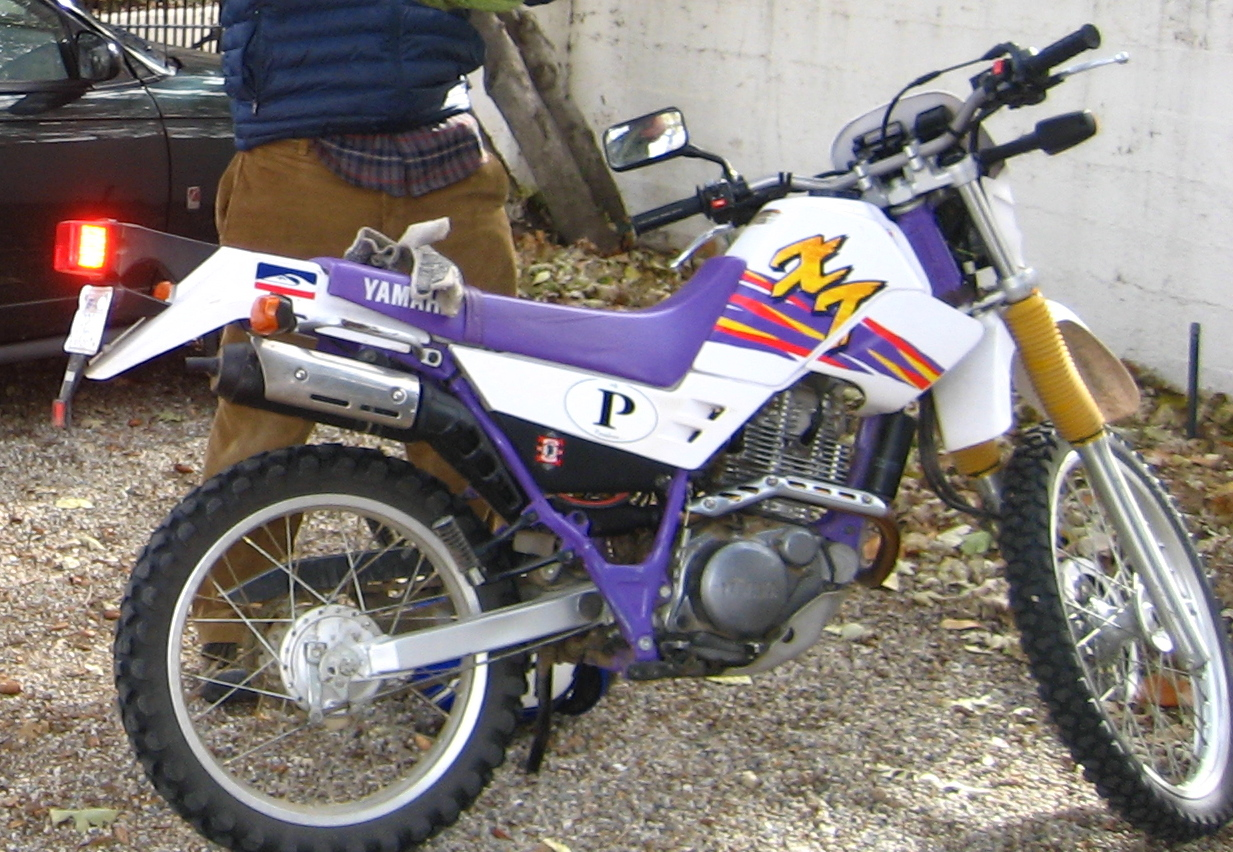 Yamaha Ttr With Training Wheels