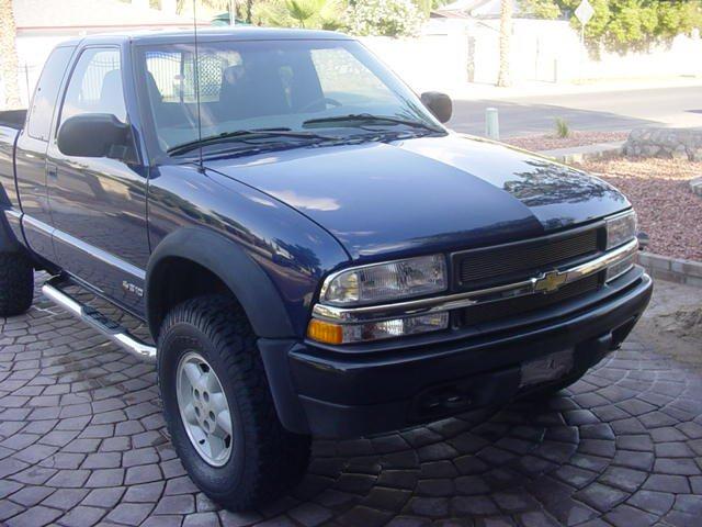 Zr Blue on 1994 Chevrolet Blazer Diesel