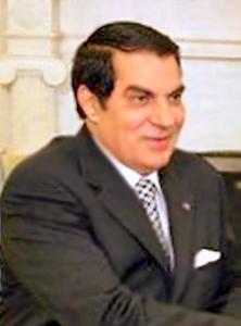Tunisian President Zine Al-Abidine Ben Ali at ...