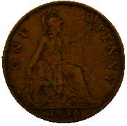 Penny (British pre-decimal coin) - Wikipedia