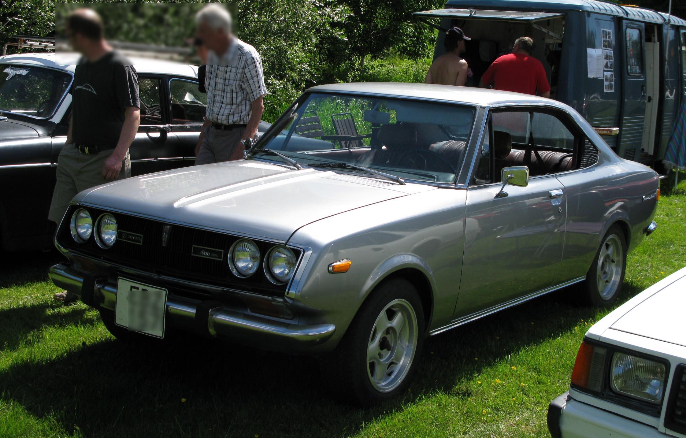 File 1971 Toyota Corona Mk Ii Coupe Jpg Wikimedia Commons