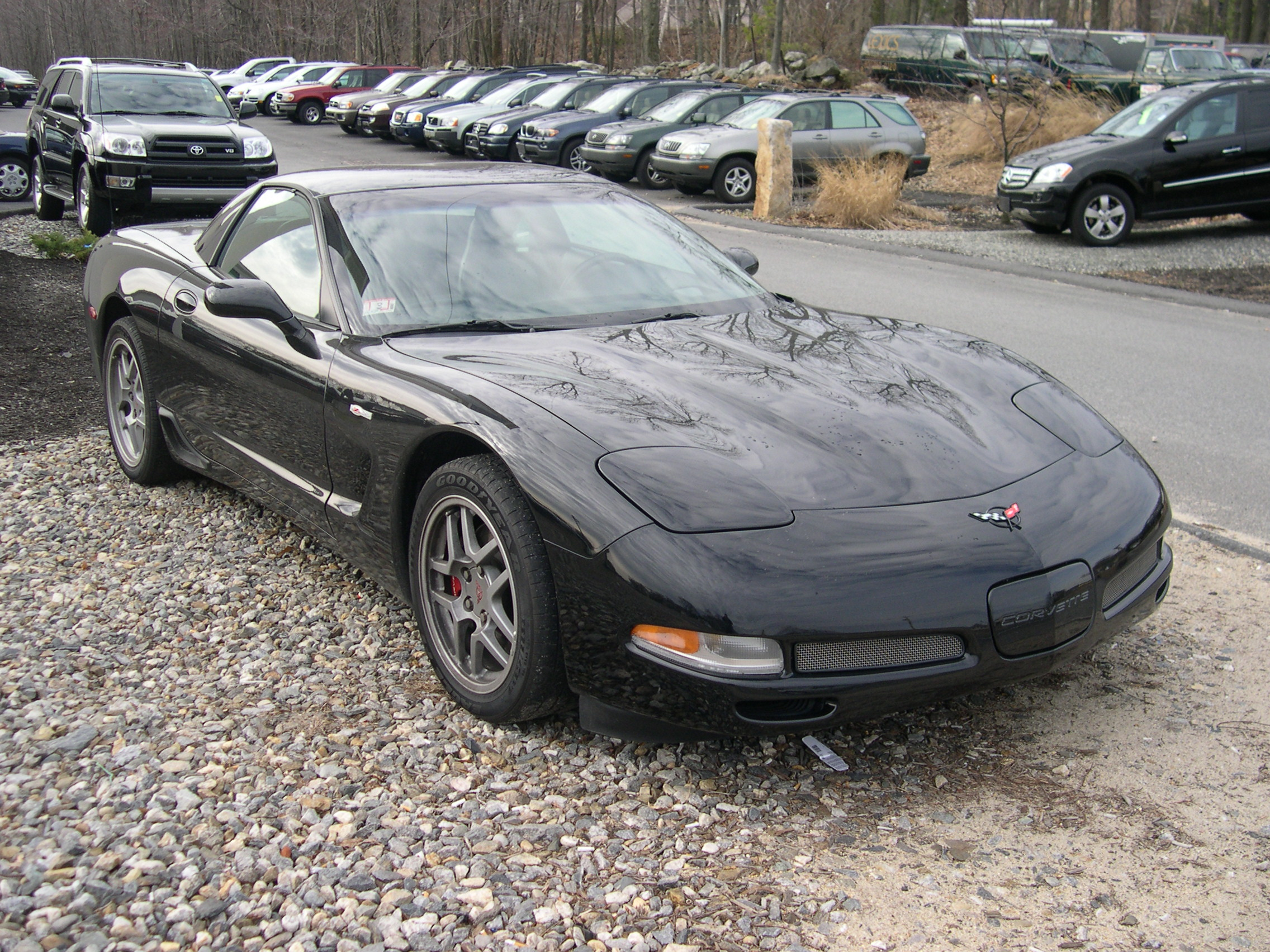 File 2002 Chevrolet Corvette Z06 Black Jpg Wikimedia Commons