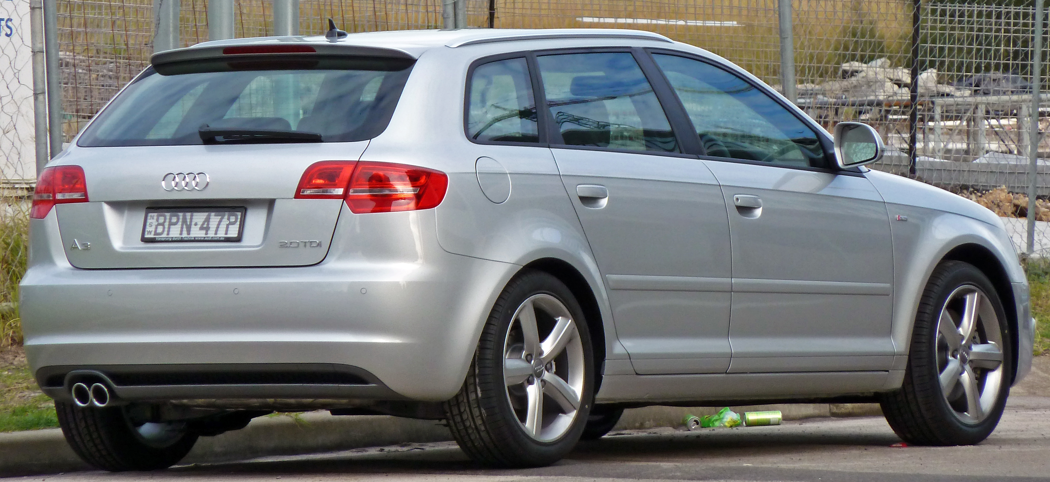 file 2008 2010 audi a3 8pa 2 0 tdi ambition 5 door sportback wikipedia. Black Bedroom Furniture Sets. Home Design Ideas