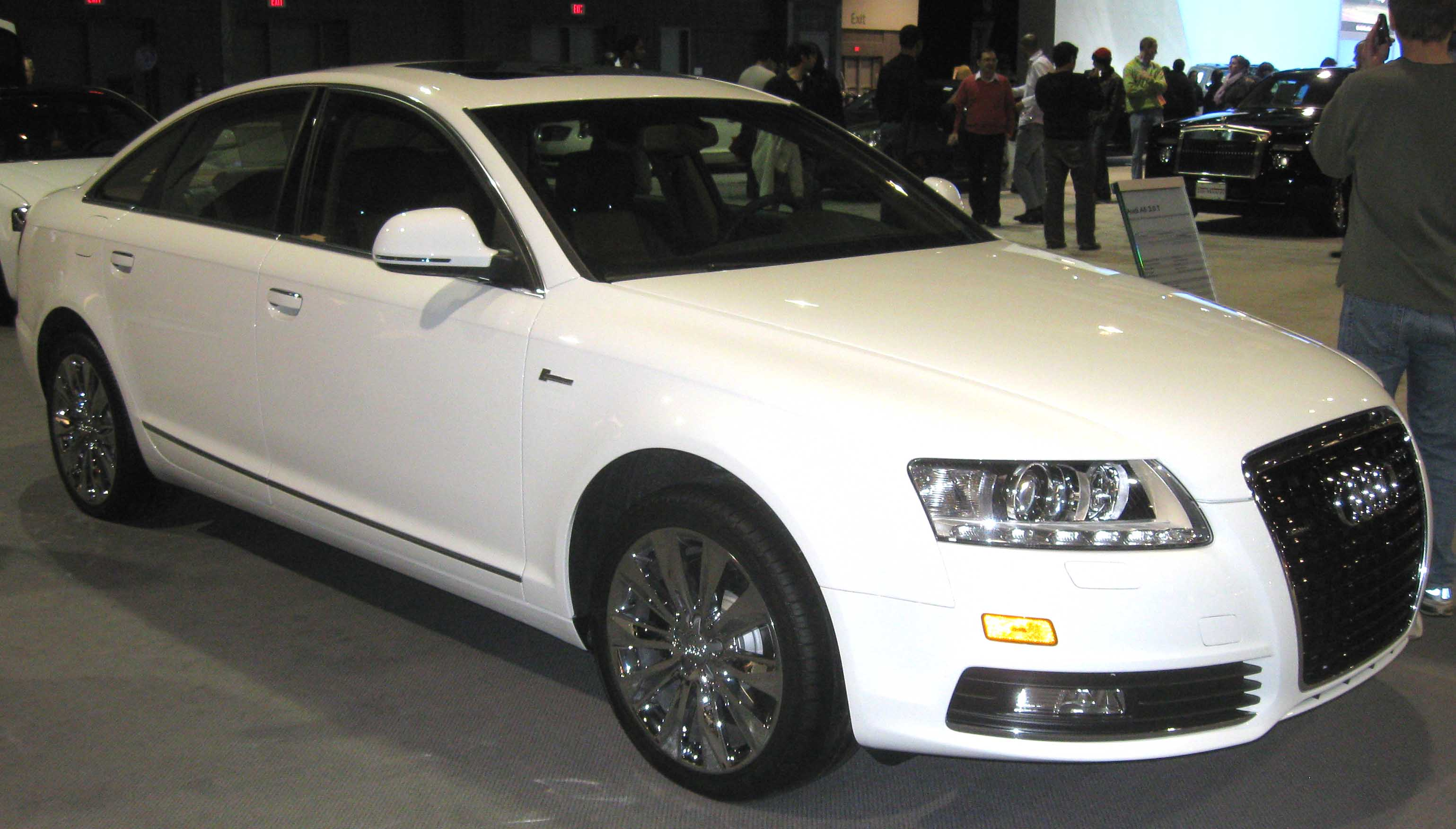 File 2009 Audi A6 Sedan Dc Jpg Wikimedia Commons