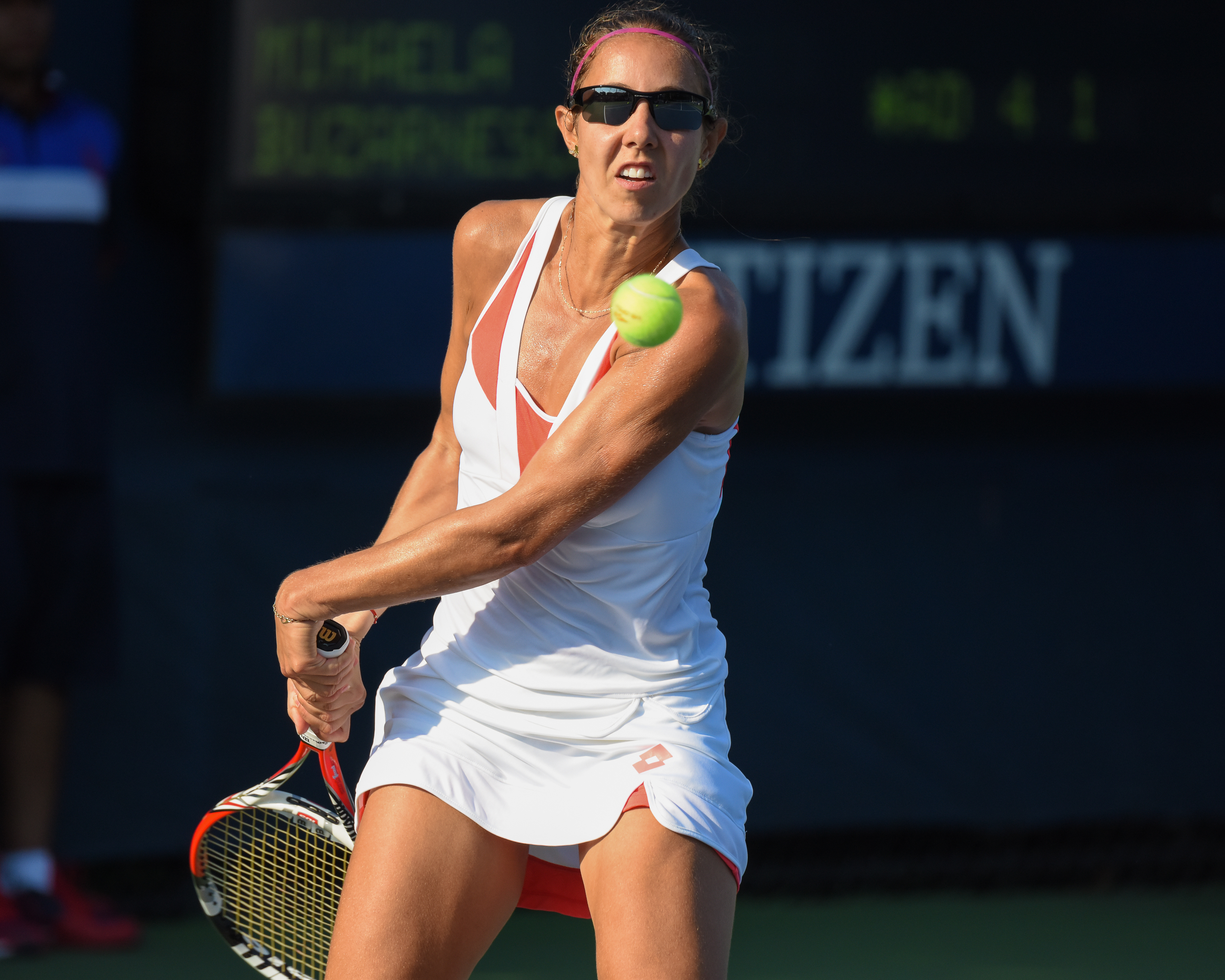 File:2015 US Open Tennis - Qualies - Aliaksandra Sasnovich ...