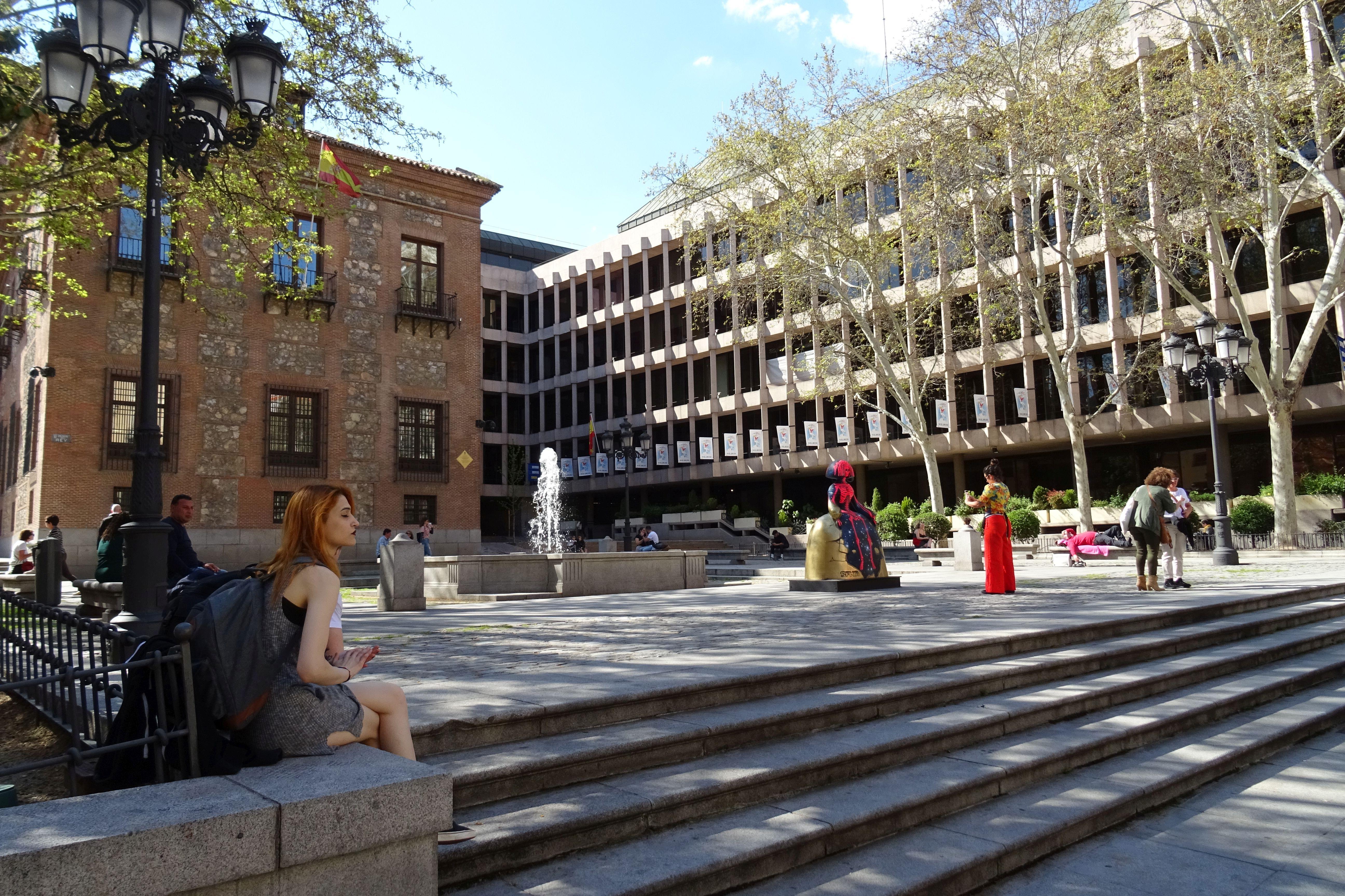 File 20180418 65 Madrid Plaza Del Rey 41646935711 Jpg Wikimedia Commons