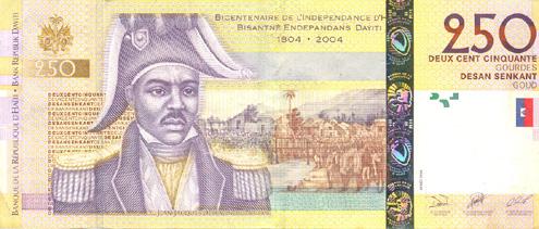 250 Haitian Gourdes