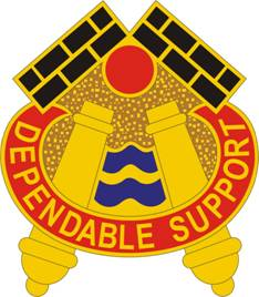 English: 479th Field Artillery Brigade Distinc...