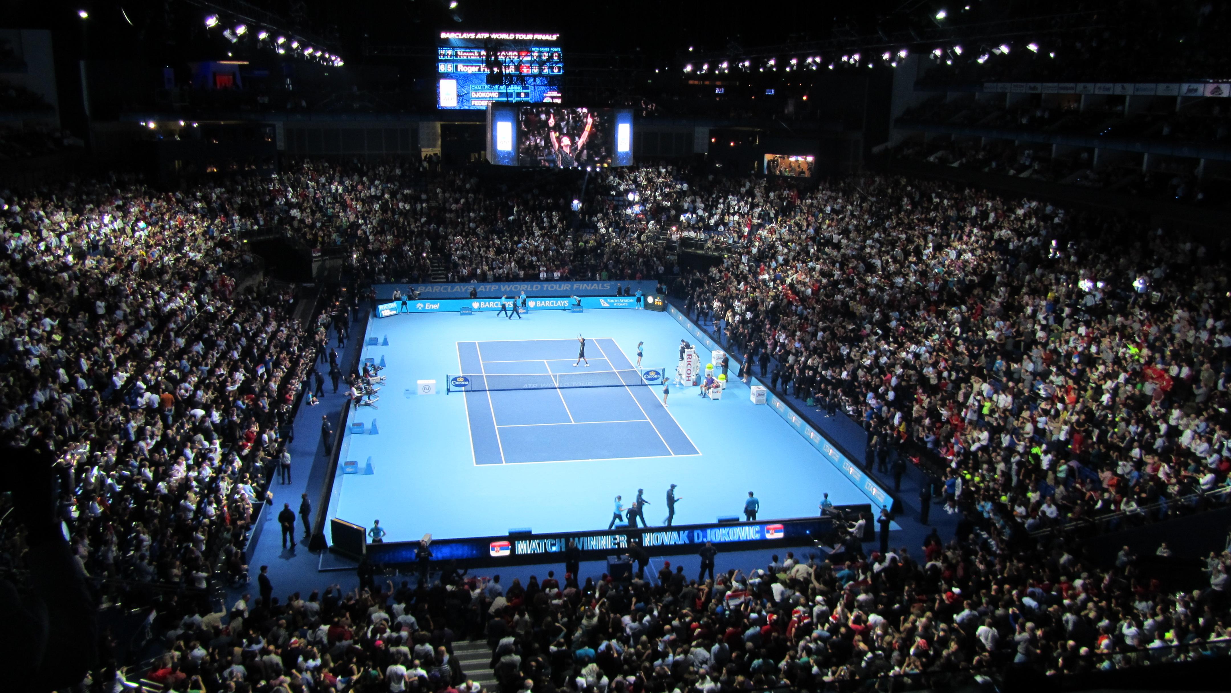 Description ATP World Tour Finals at The ...