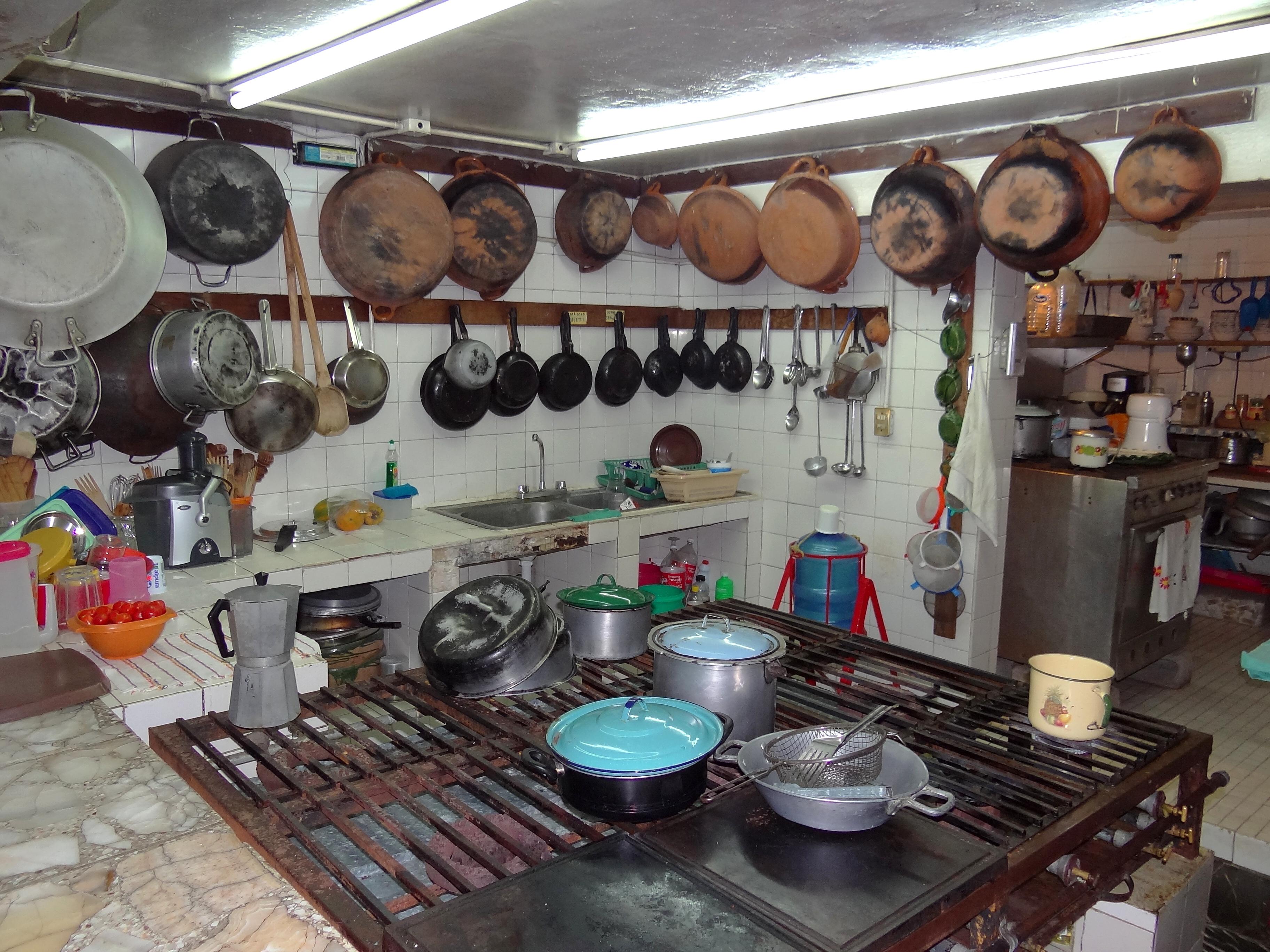 File:A Mexican Kitchen   Hotel Villa Florencia   Puerto Angel   Oaxaca    Mexico (6522741095)