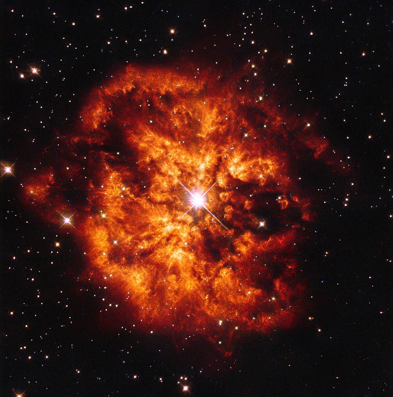 Wolf-Rayet star - Wikipedia