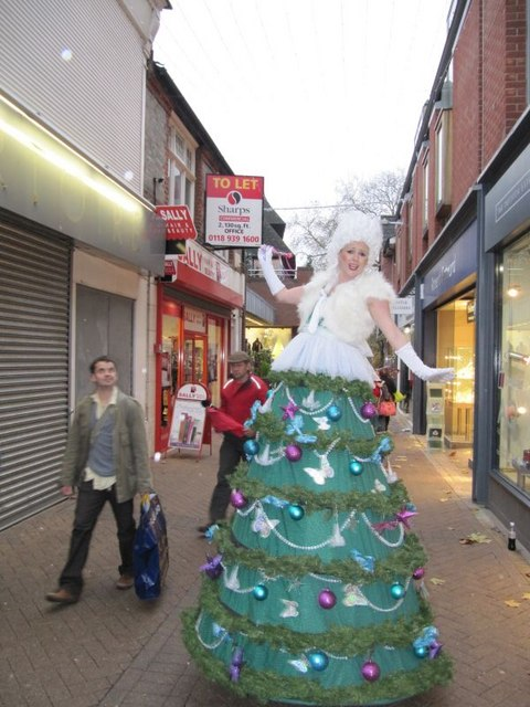 Attractive Walking Christmas Tree Part - 7: File:A Walking Christmas Tree - Geograph.org.uk - 1596597.jpg