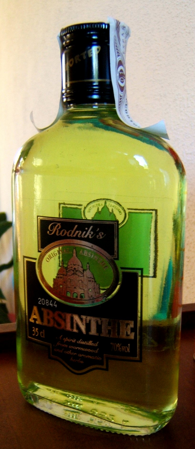 File:Absinthe bottle.JPG - Wikimedia Commons