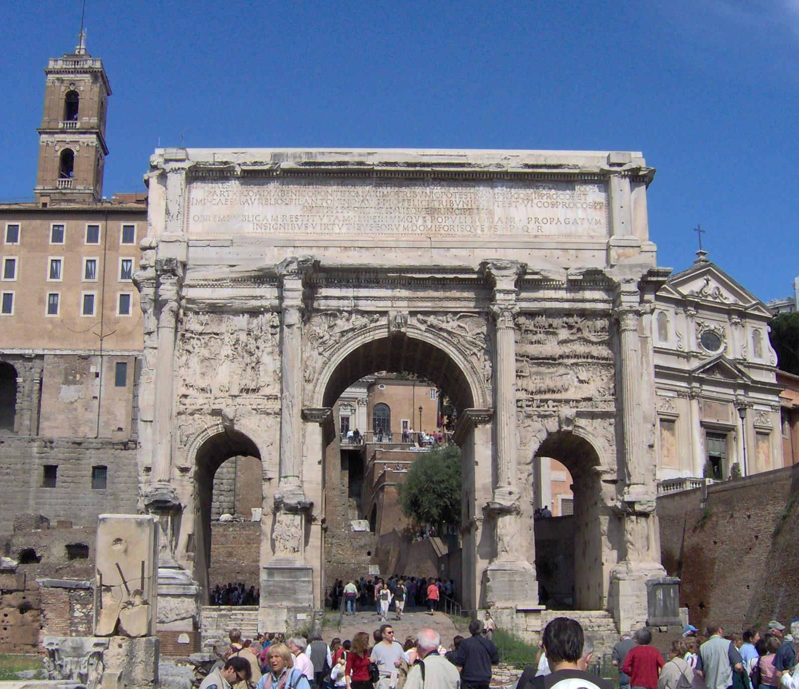 Boog van Septimius Severus - Wikiwand